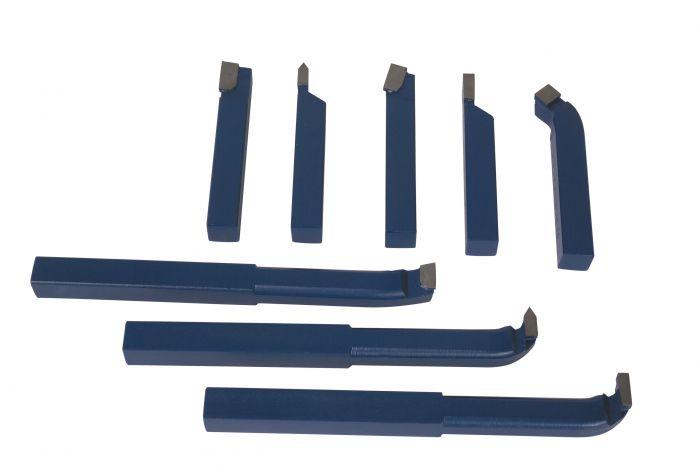 Komplet noży tokarskich