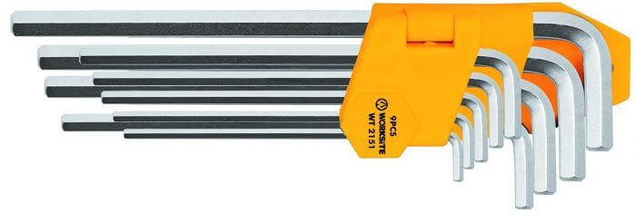 Klucze imbusowe hex (1,5-10 mm)